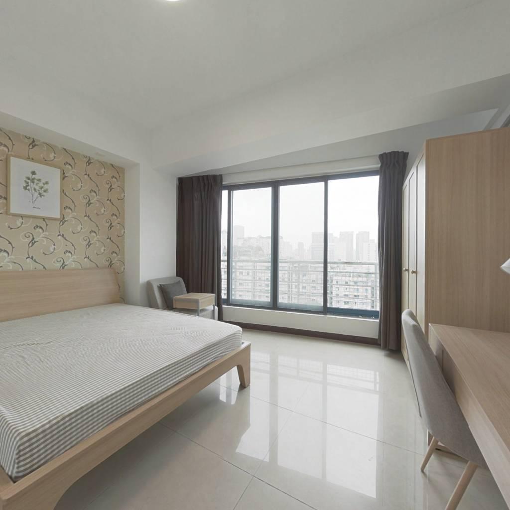 合租·蓝色港湾 4室1厅 北卧室图