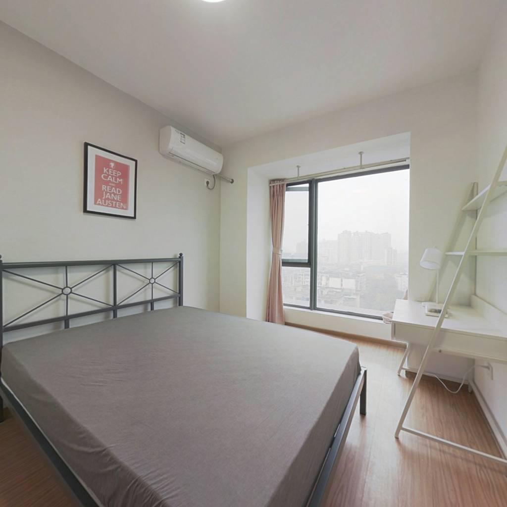 合租·锦天国际 4室1厅 北卧室图