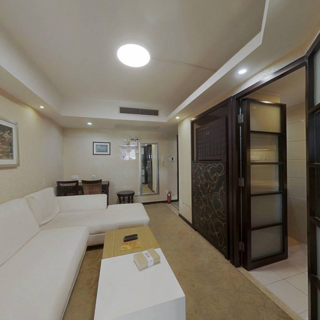整租·绿地海怡公寓 1室1厅 西南卧室图