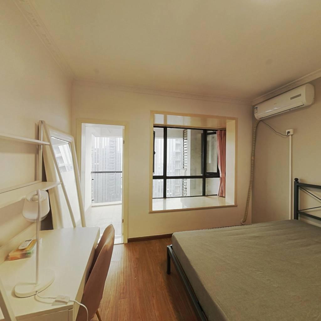 合租·蓝光凯丽美域 3室1厅 南卧室图