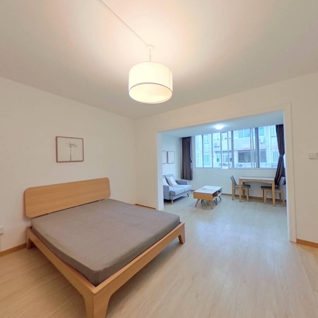 整租·天山小区 2室1厅 南卧室图