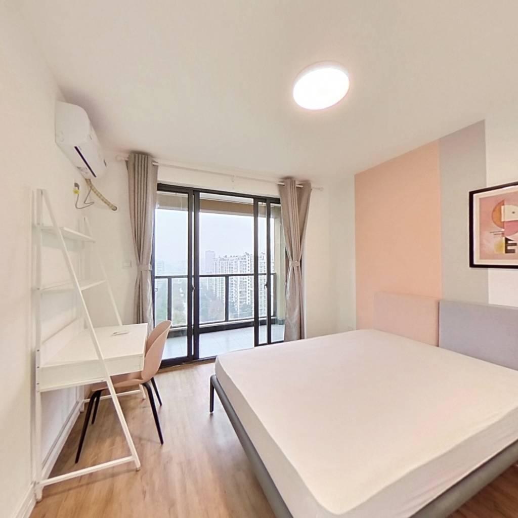 合租·七古登人家 4室1厅 南卧室图