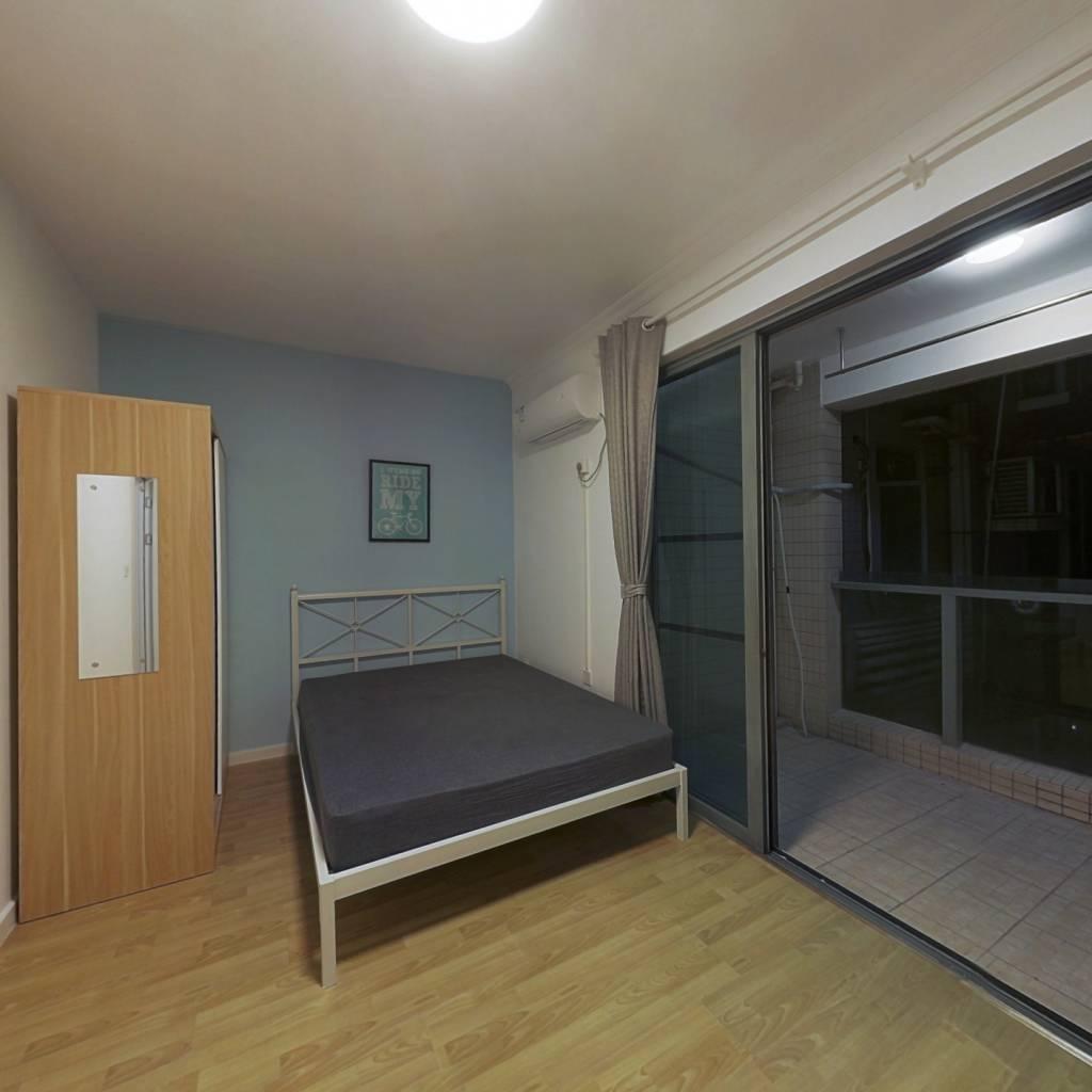 合租·愉景南苑 4室1厅 南卧室图