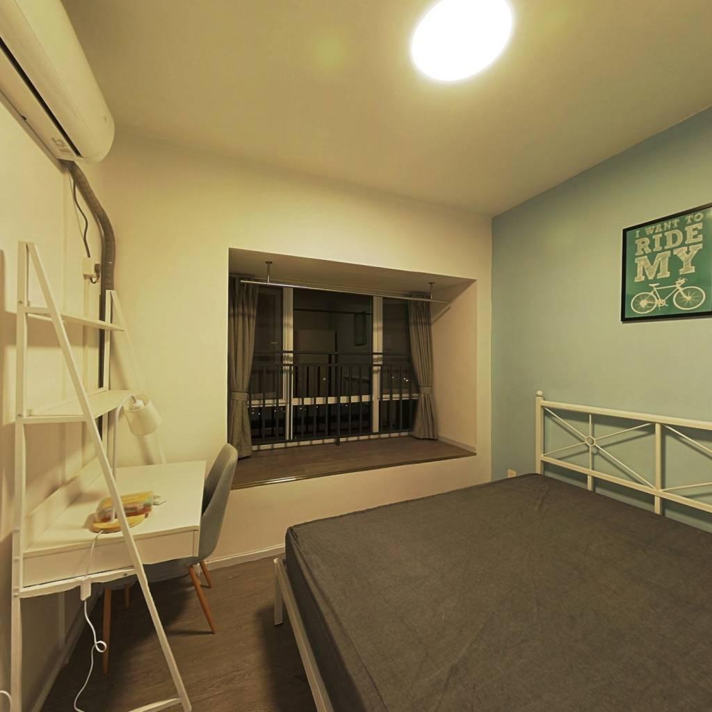 合租·首创光和城二期 3室1厅 南卧室图
