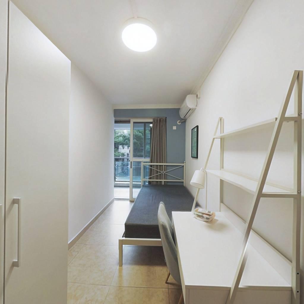 合租·波尔多庄园 3室1厅 北卧室图