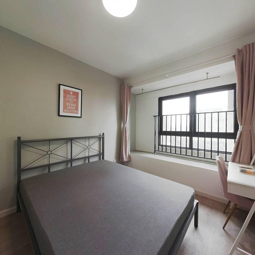 合租·龙湖春江紫宸 4室1厅 北卧室图
