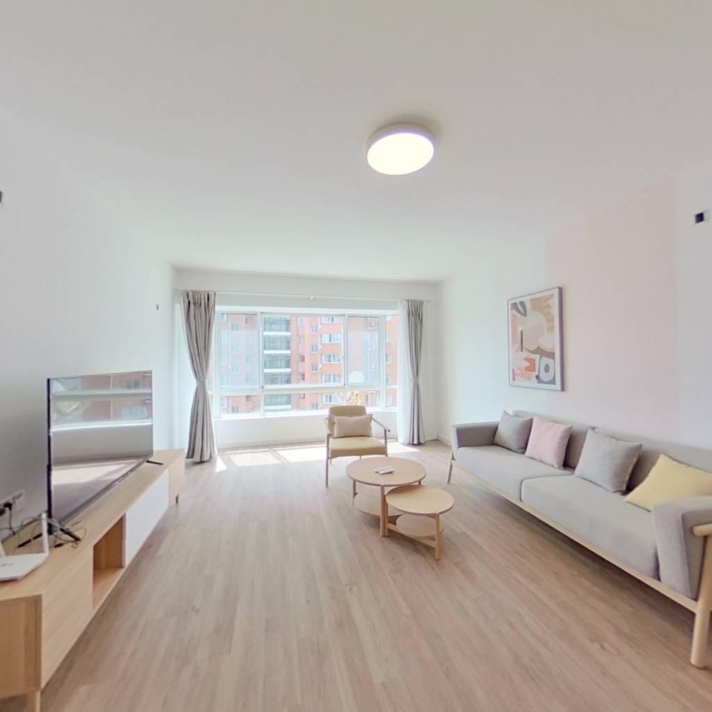 整租·绿洲紫荆花园 2室1厅 南卧室图