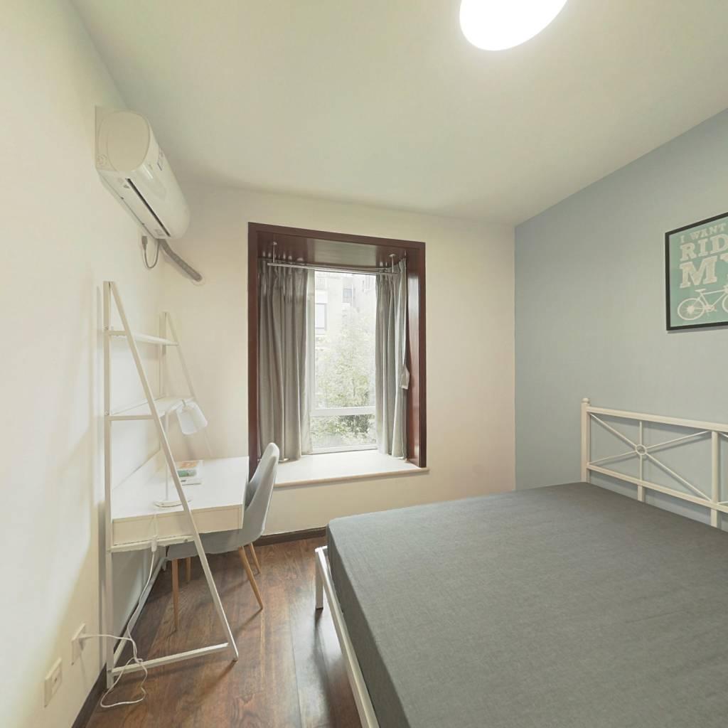 合租·瀚林花园 4室1厅 南卧室图