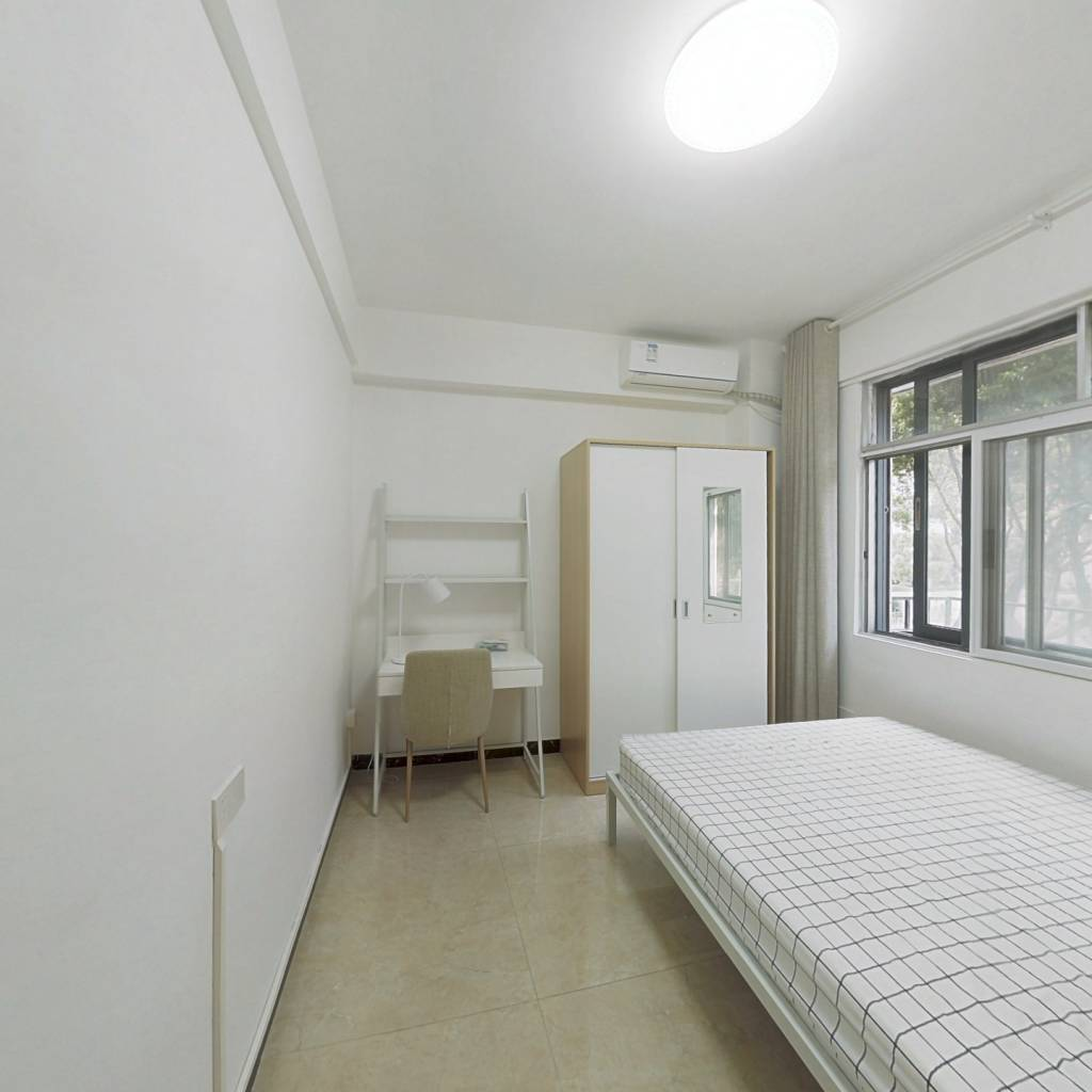 合租·六运小区 2室1厅 北卧室图