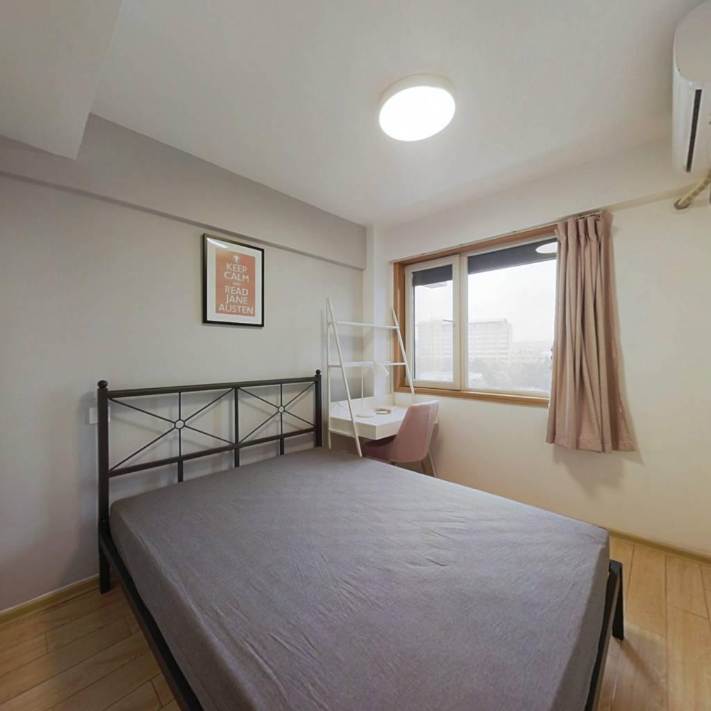 合租·先锋青年公寓 3室1厅 北卧室图