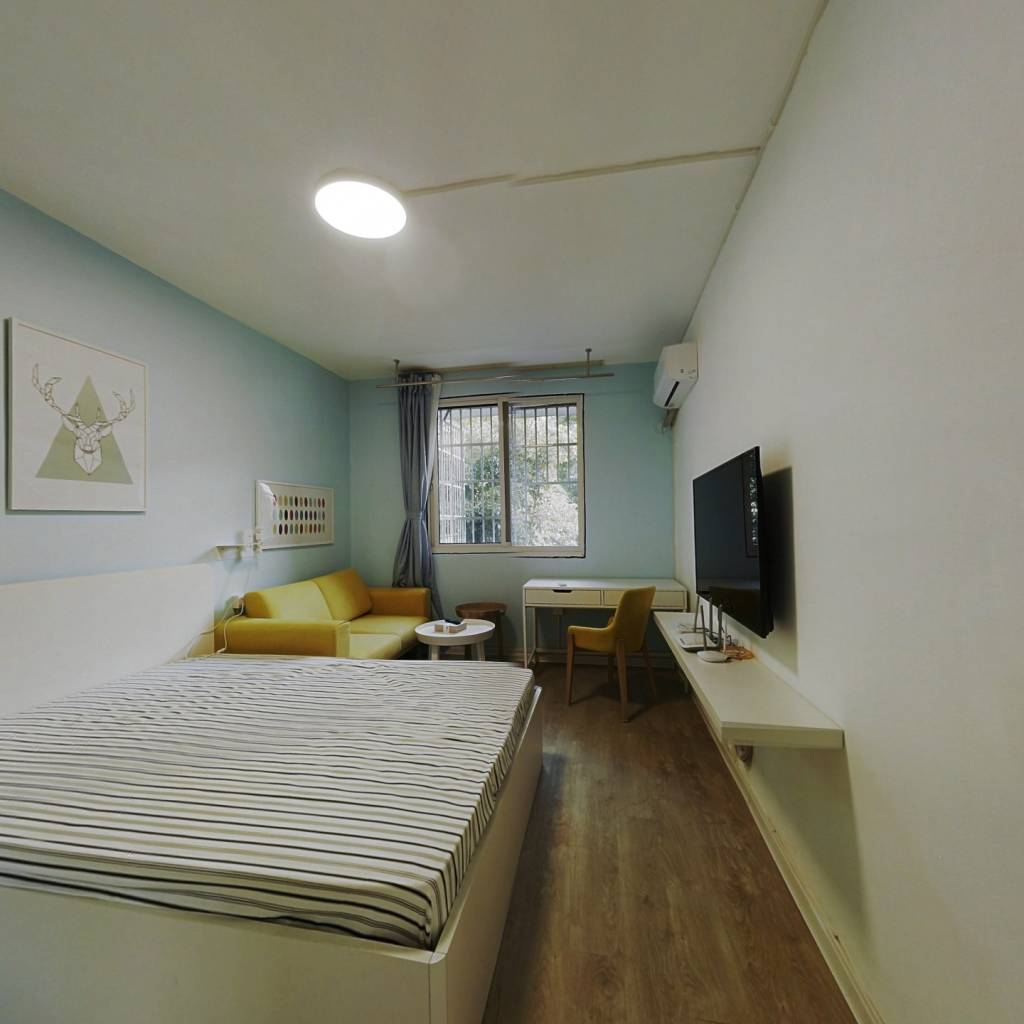 整租·古荡新村东区 2室1厅 南卧室图
