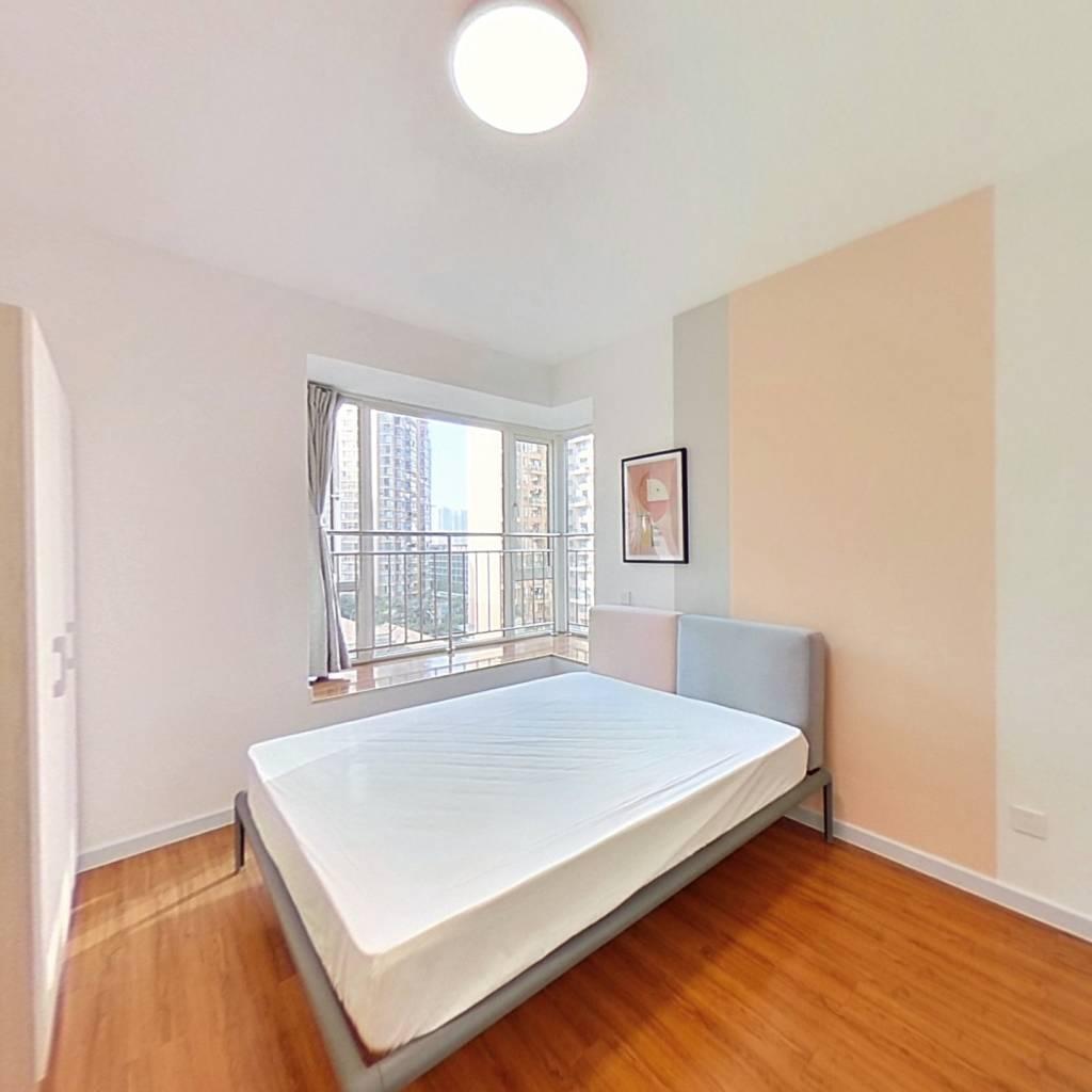 合租·比华利国际城二期 4室1厅 西南卧室图