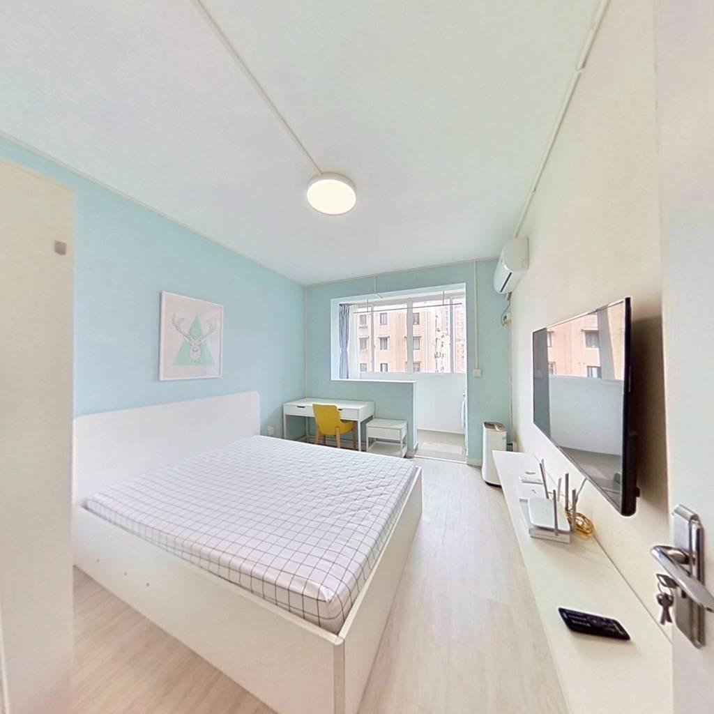 整租·蒙西小区 1室1厅 南卧室图