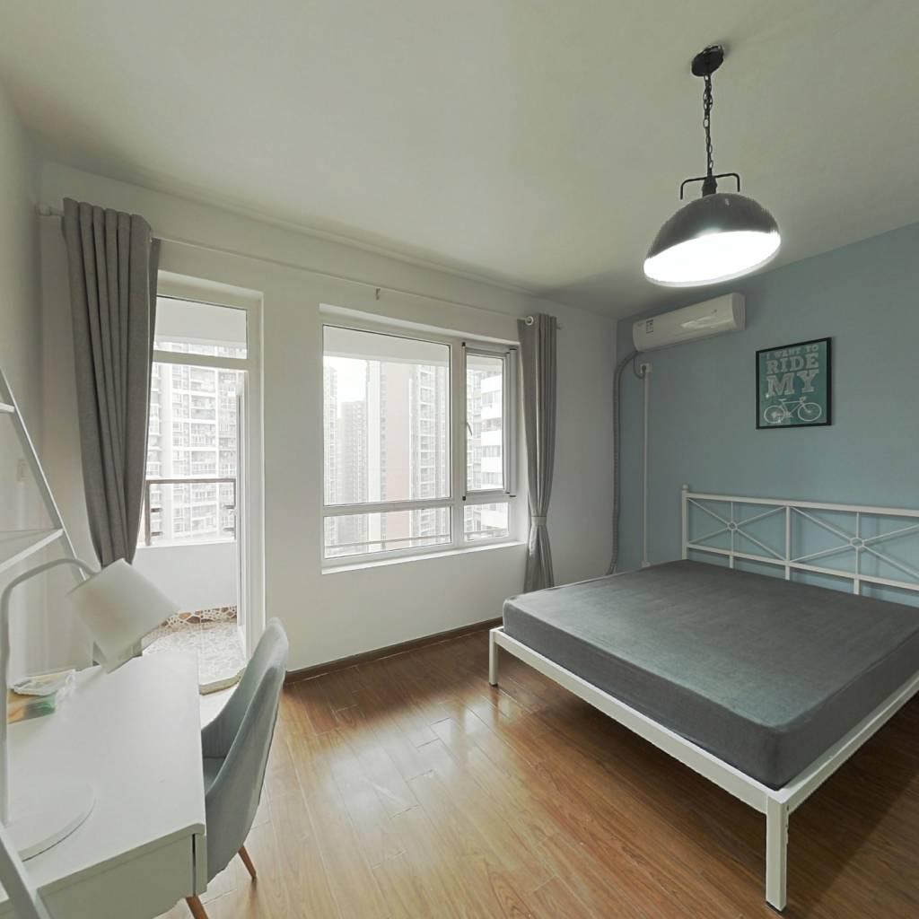 合租·红枫岭二期 4室1厅 北卧室图