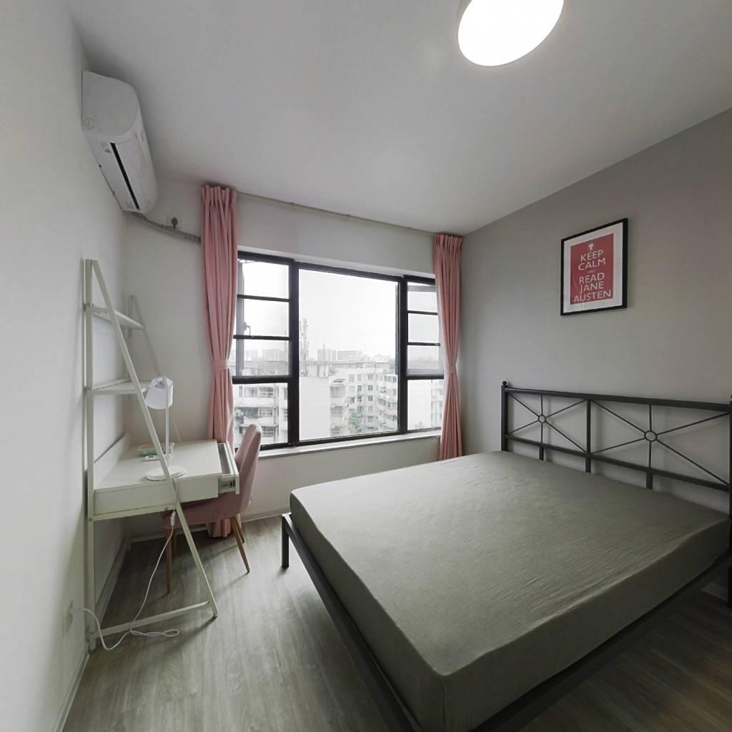 合租·合能珍宝金楠 4室1厅 西南卧室图