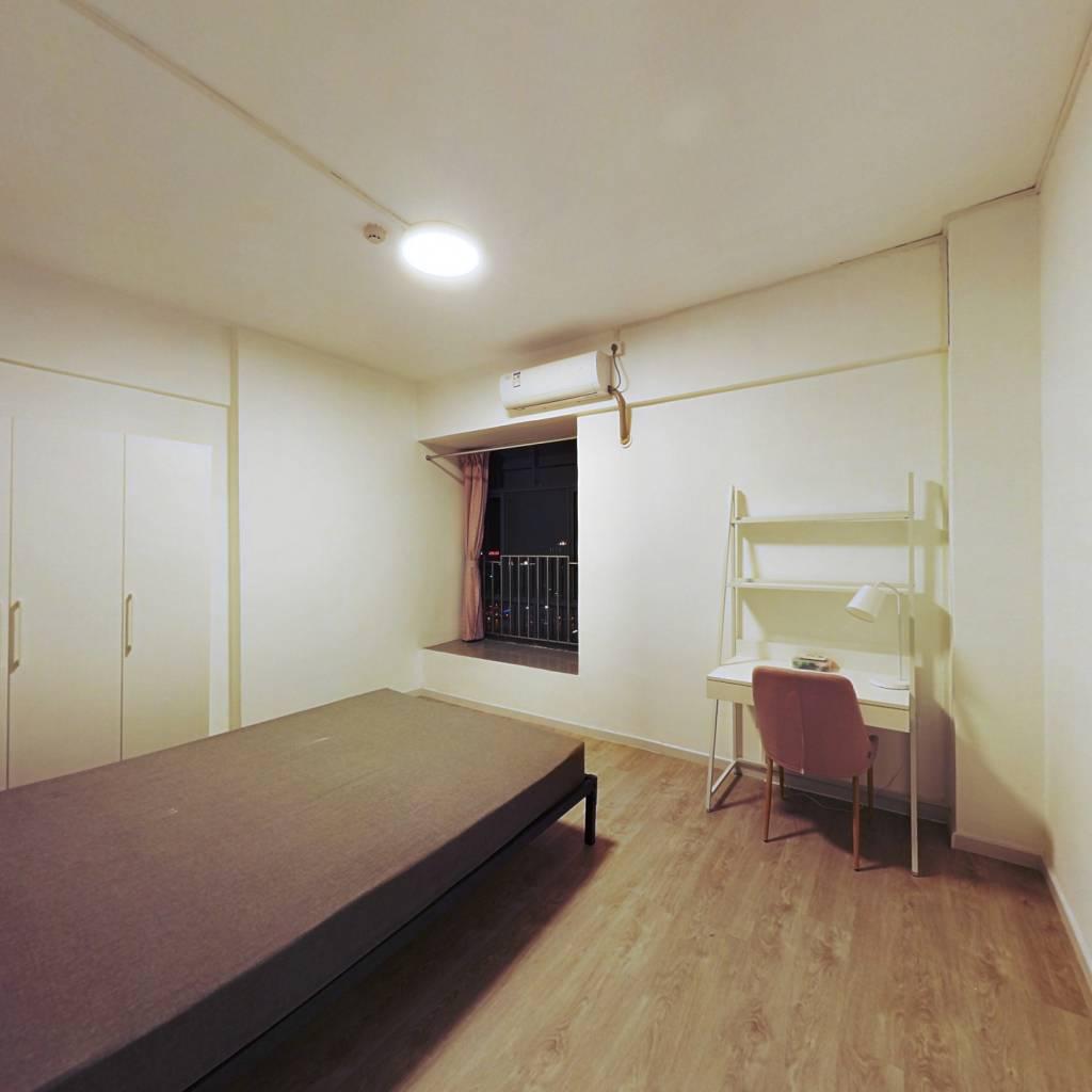 合租·富基广场 3室1厅 南卧室图