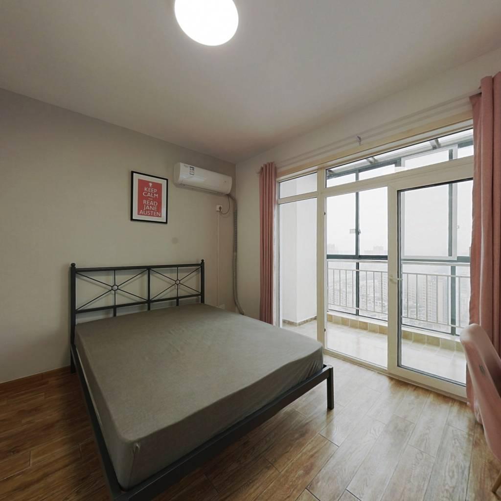 合租·蓝谷地天域 4室1厅 东卧室图