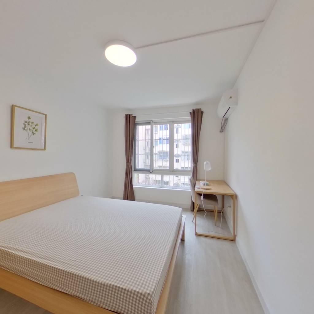 合租·康乐花园(闵行) 4室1厅 北卧室图