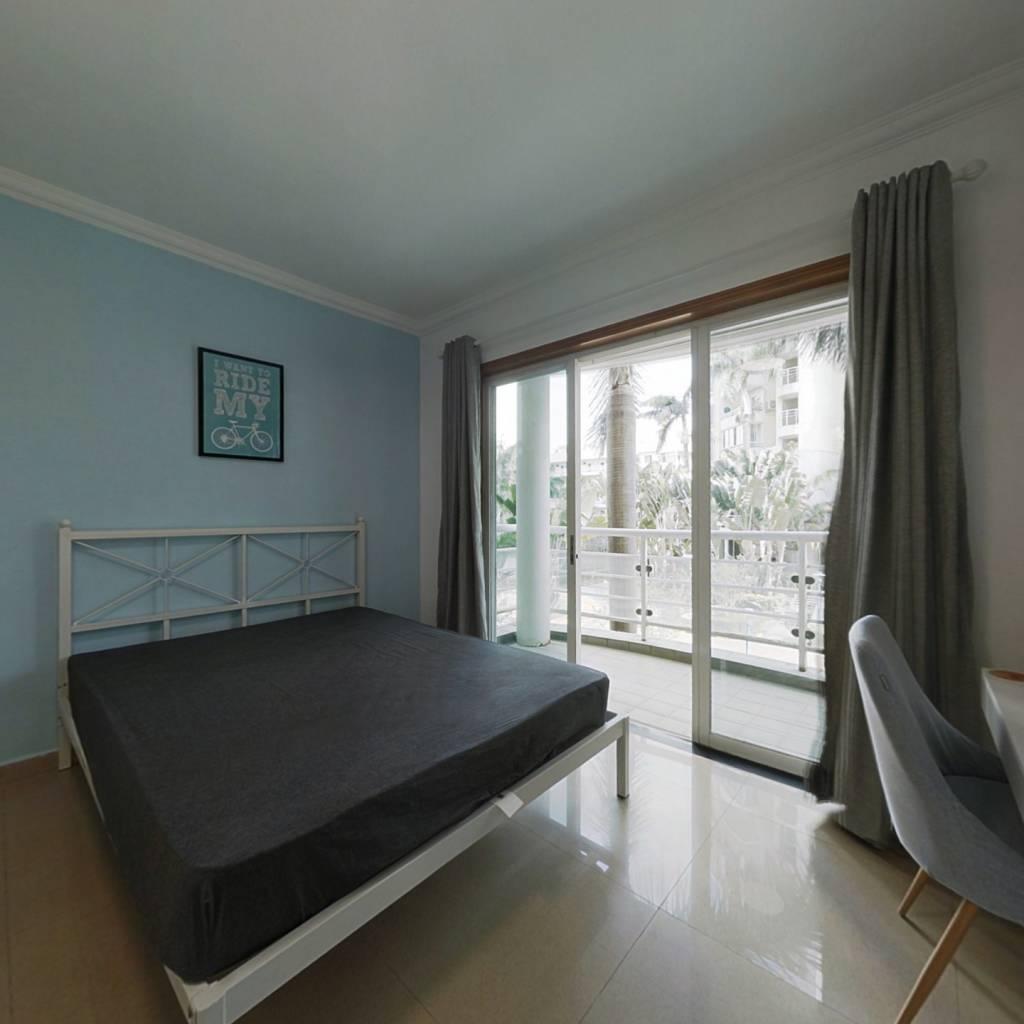 合租·蔚蓝海岸1期 4室1厅 北卧室图