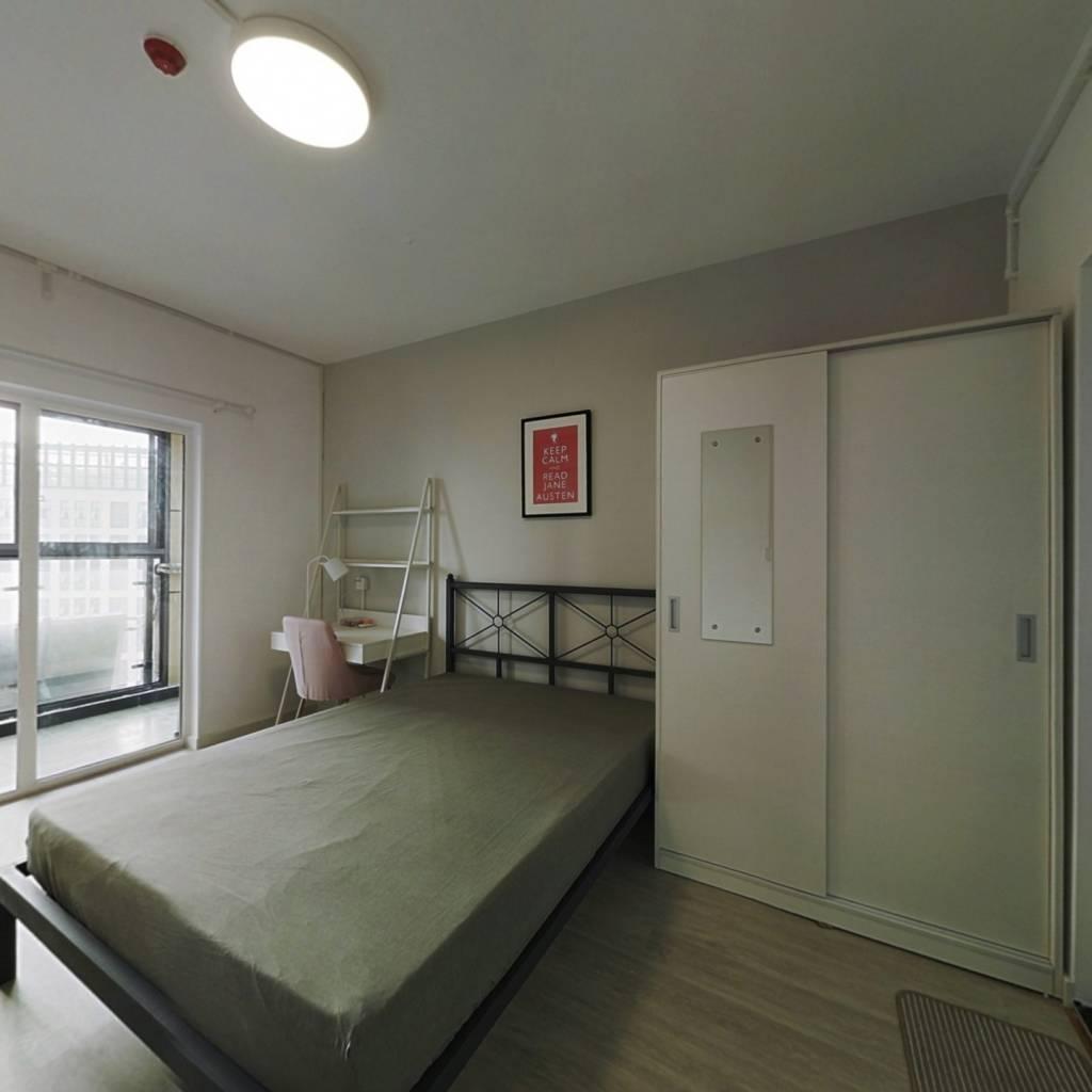 合租·汉口新界广场 4室1厅 南卧室图