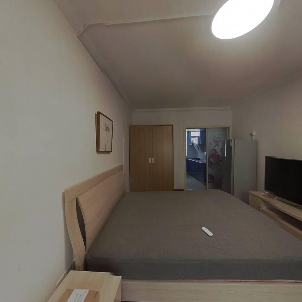 整租·中东小区 1室1厅 西卧室图