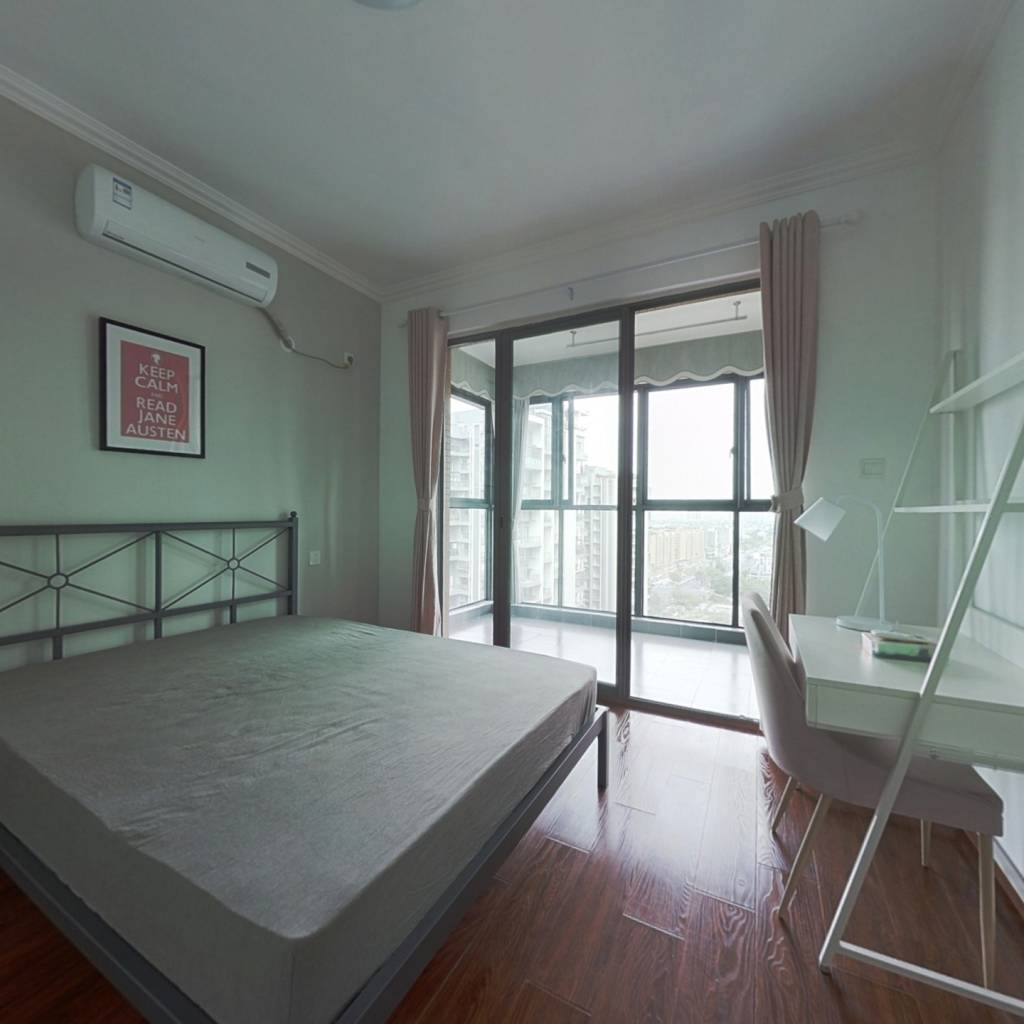 合租·金沙鹭岛三期 4室1厅 北卧室图