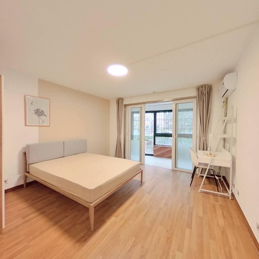 合租·新梅共和城 3室1厅 西南卧室图