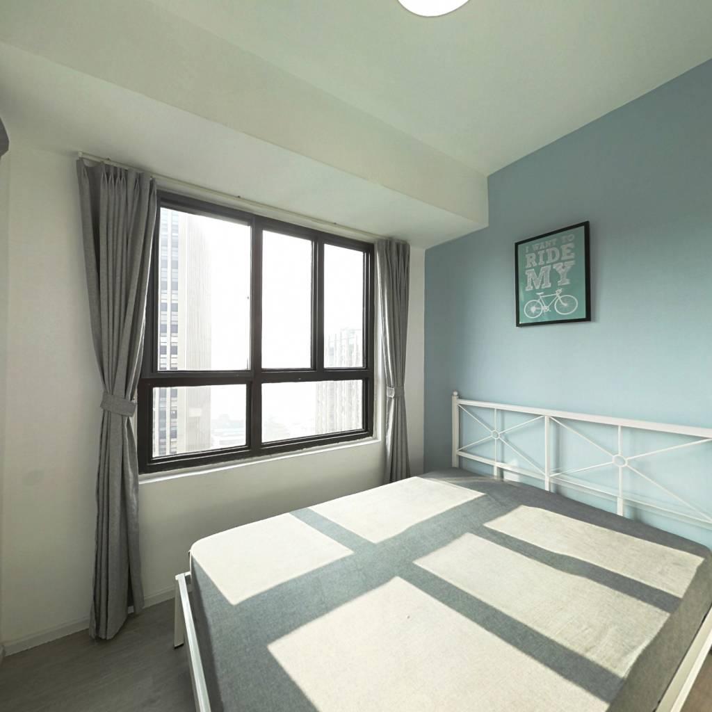 合租·鲁能公馆 4室1厅 西北卧室图