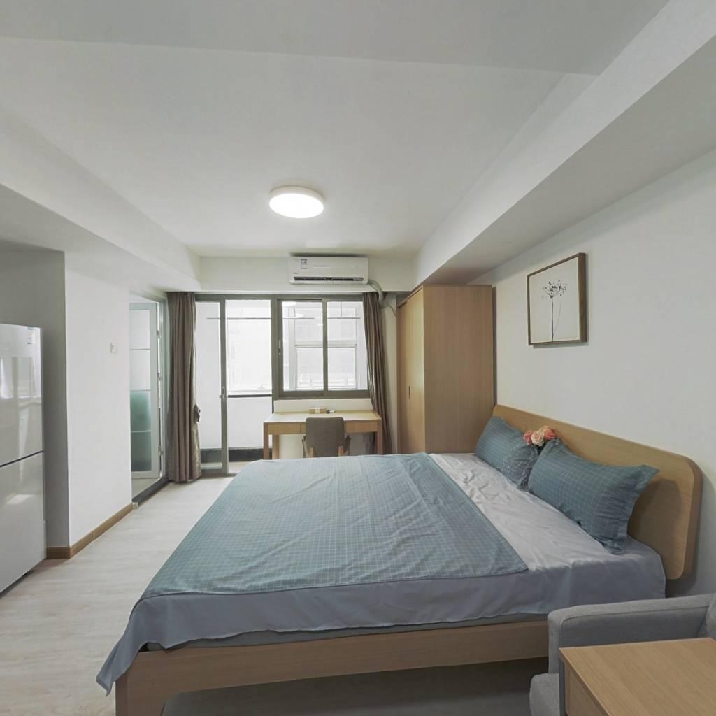 整租·中航凯特公寓 1室1厅 东北卧室图