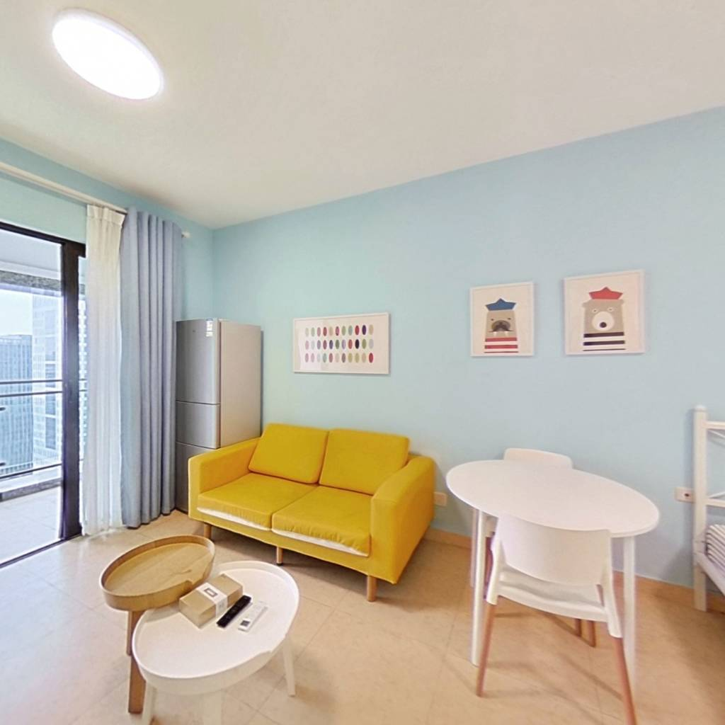 整租·布鲁明顿广场 1室1厅 北卧室图