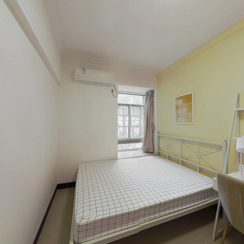 合租·橡树园 3室1厅 南卧室图