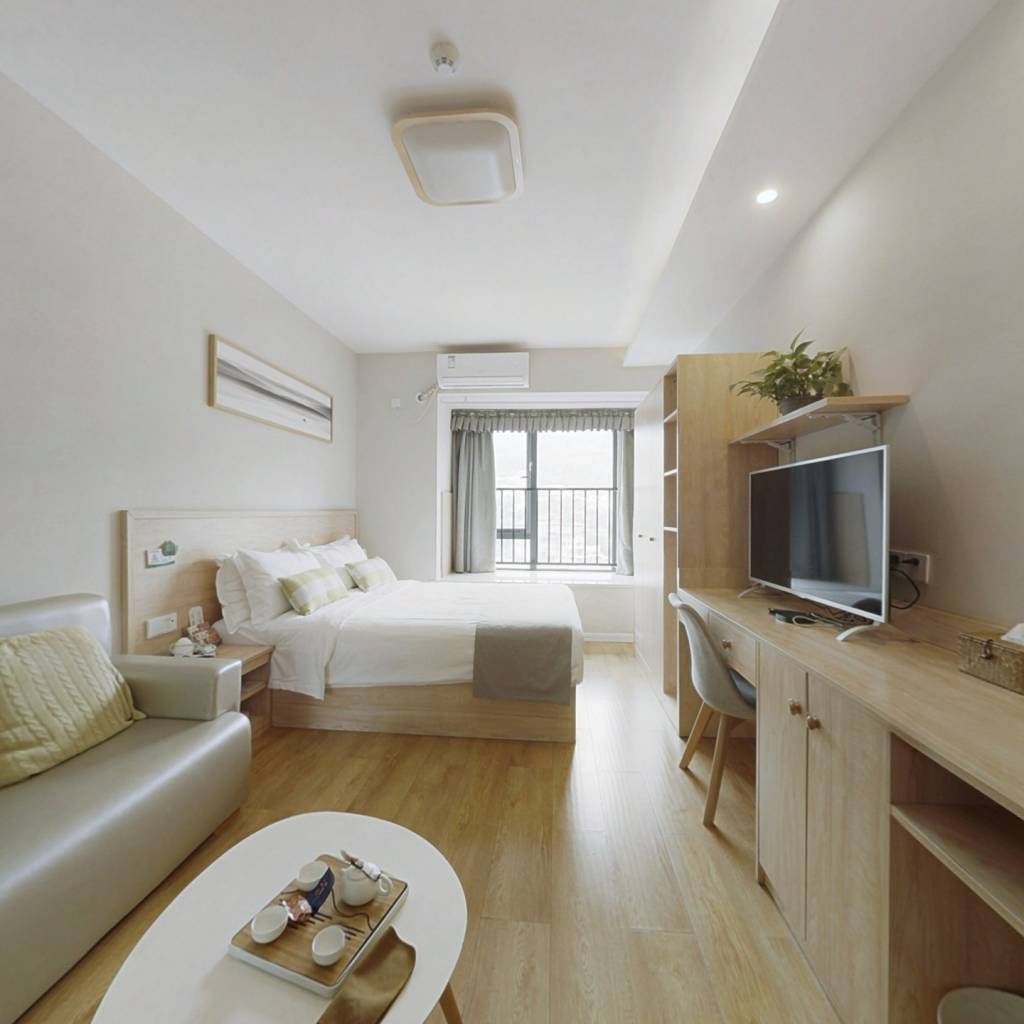 保利品质公寓,精装修,轻轨现房,采光佳,家电齐全