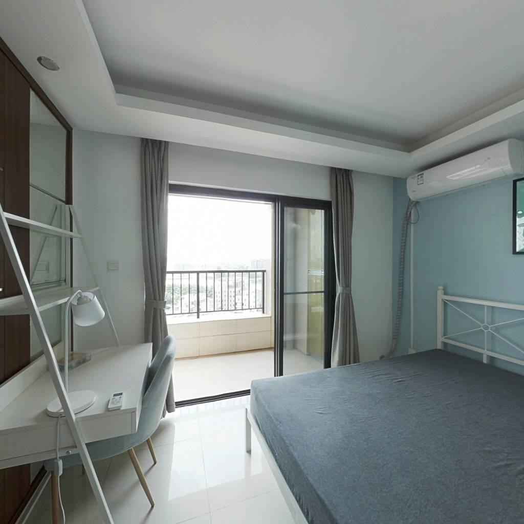 合租·万科柏悦湾 4室1厅 南卧室图
