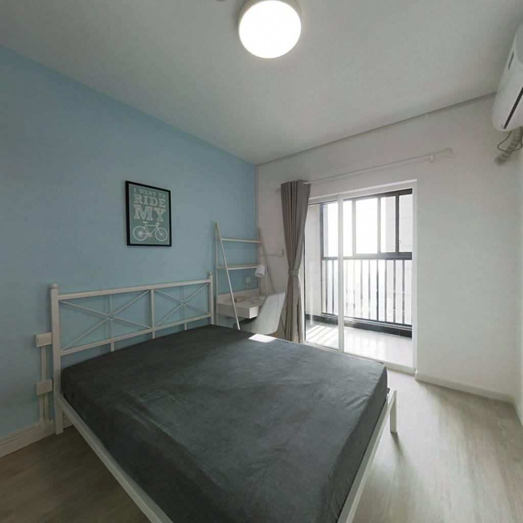 合租·江汉人家 3室1厅 南卧室图