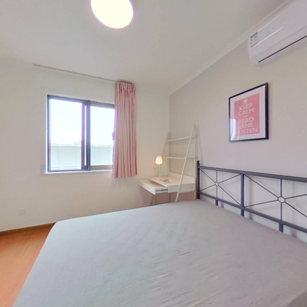 合租·总府花园 3室1厅 东北卧室图