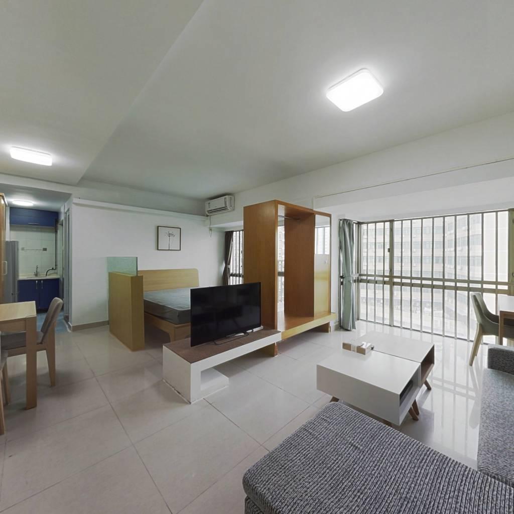 整租·米兰公寓 1室1厅 南卧室图