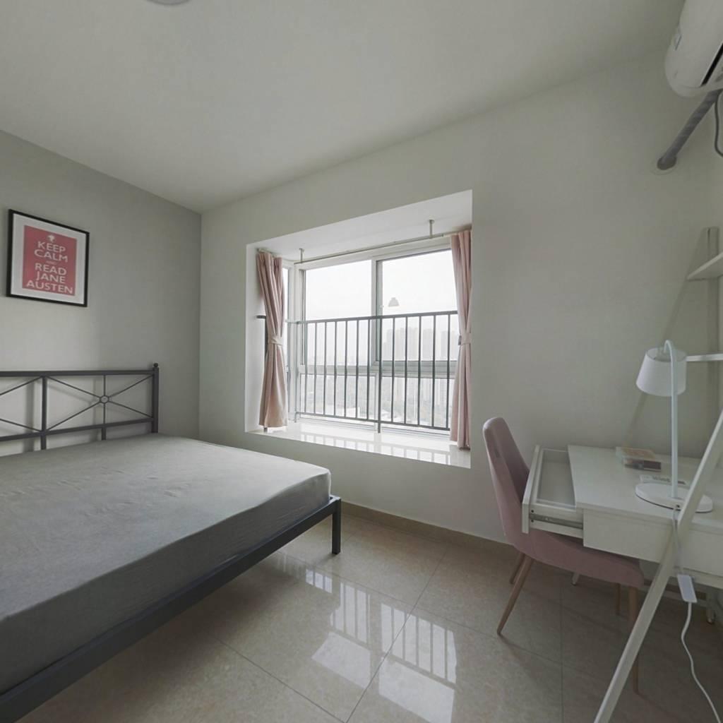 合租·沙河路苑 4室1厅 南卧室图