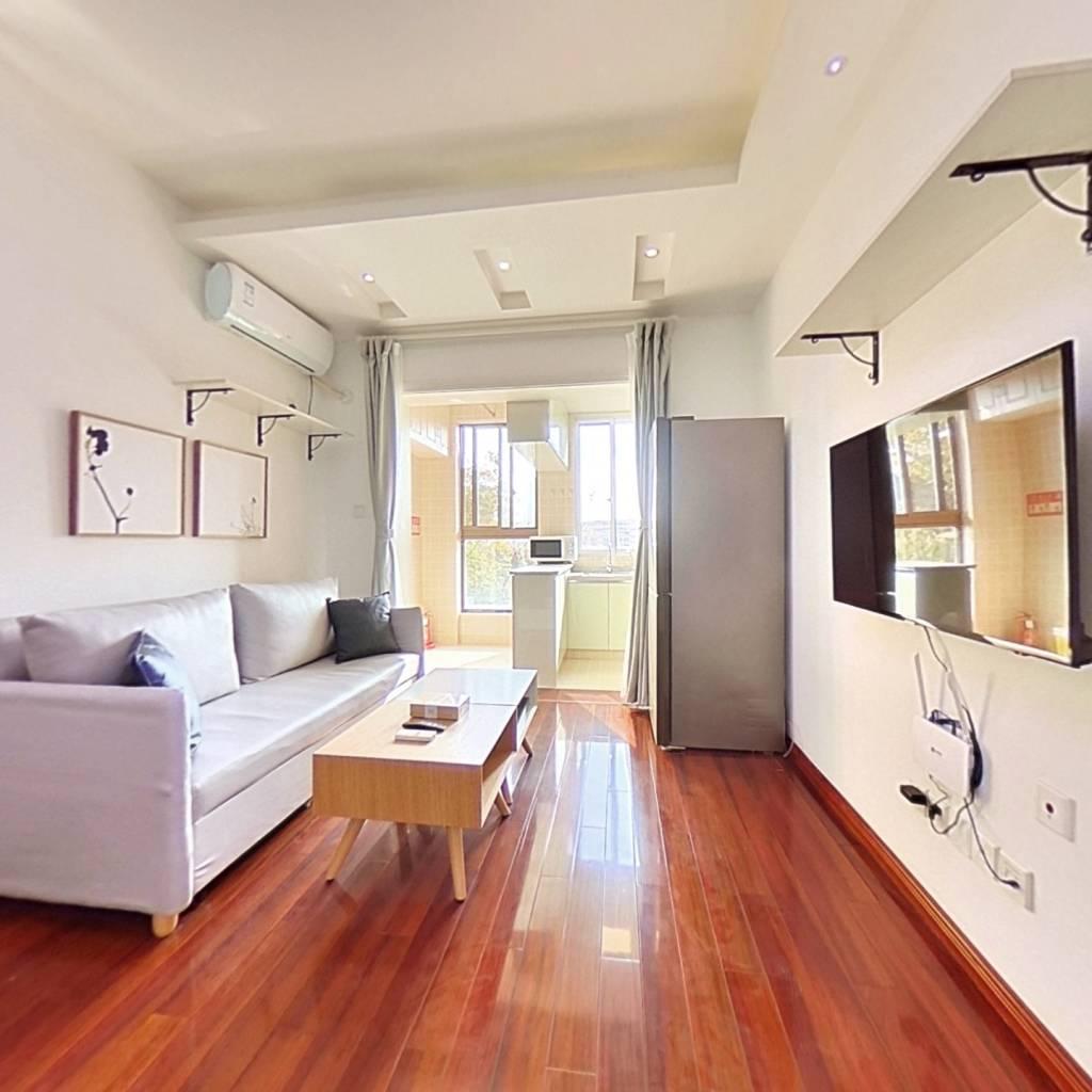 整租·常发豪庭国际 1室1厅 南卧室图