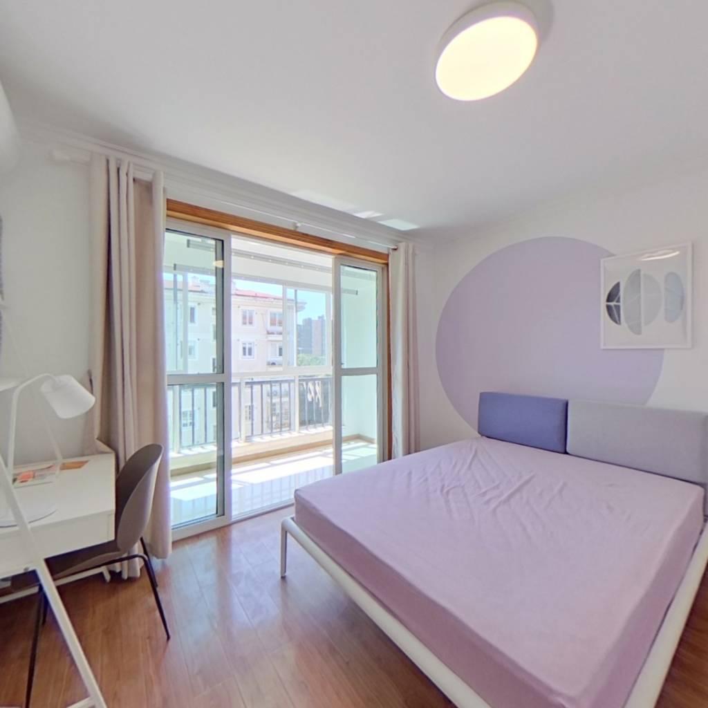 合租·三林世博家园(东书房路390弄) 3室1厅 南卧室图