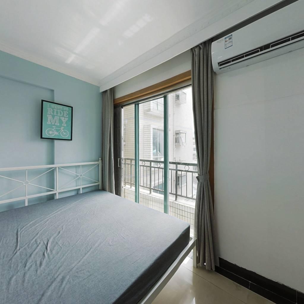 合租·汇侨新城南区 3室1厅 西南卧室图