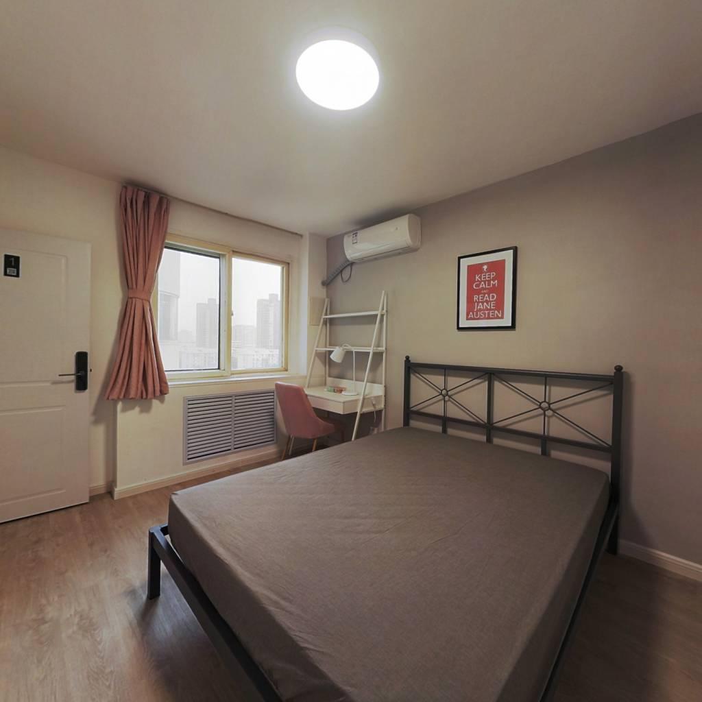 合租·宝汇苑 3室1厅 北卧室图