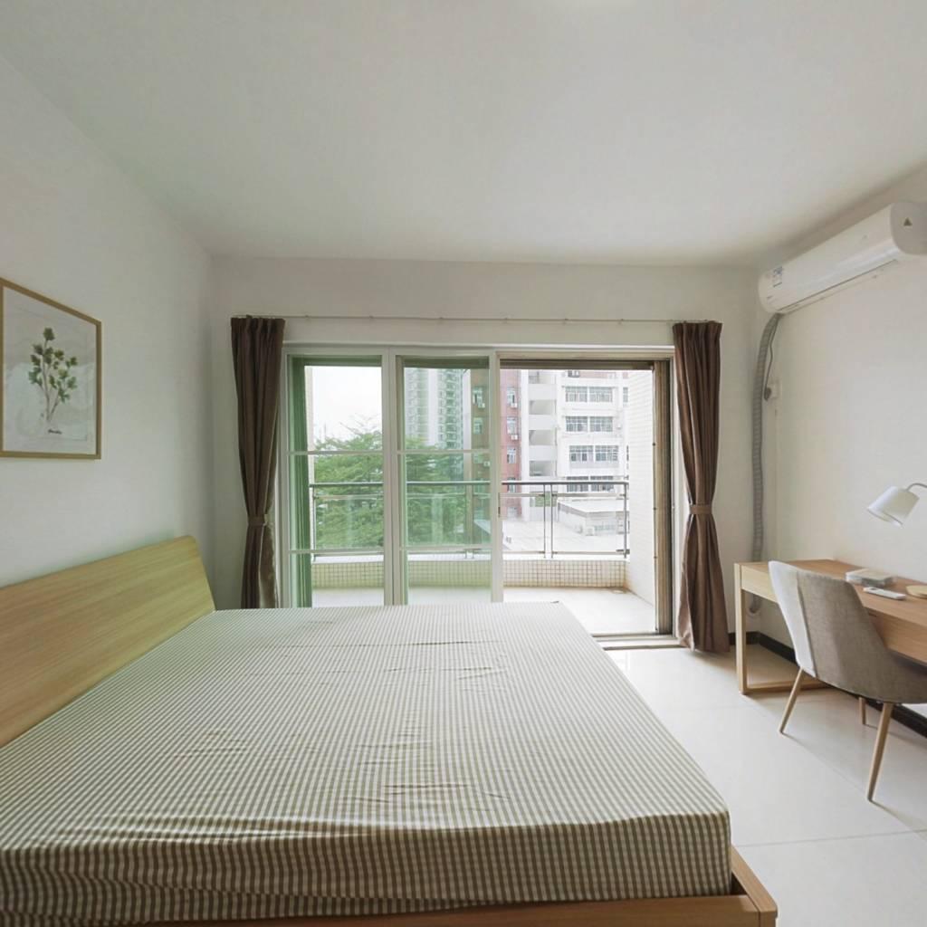 合租·黄埔花园 4室1厅 南卧室图