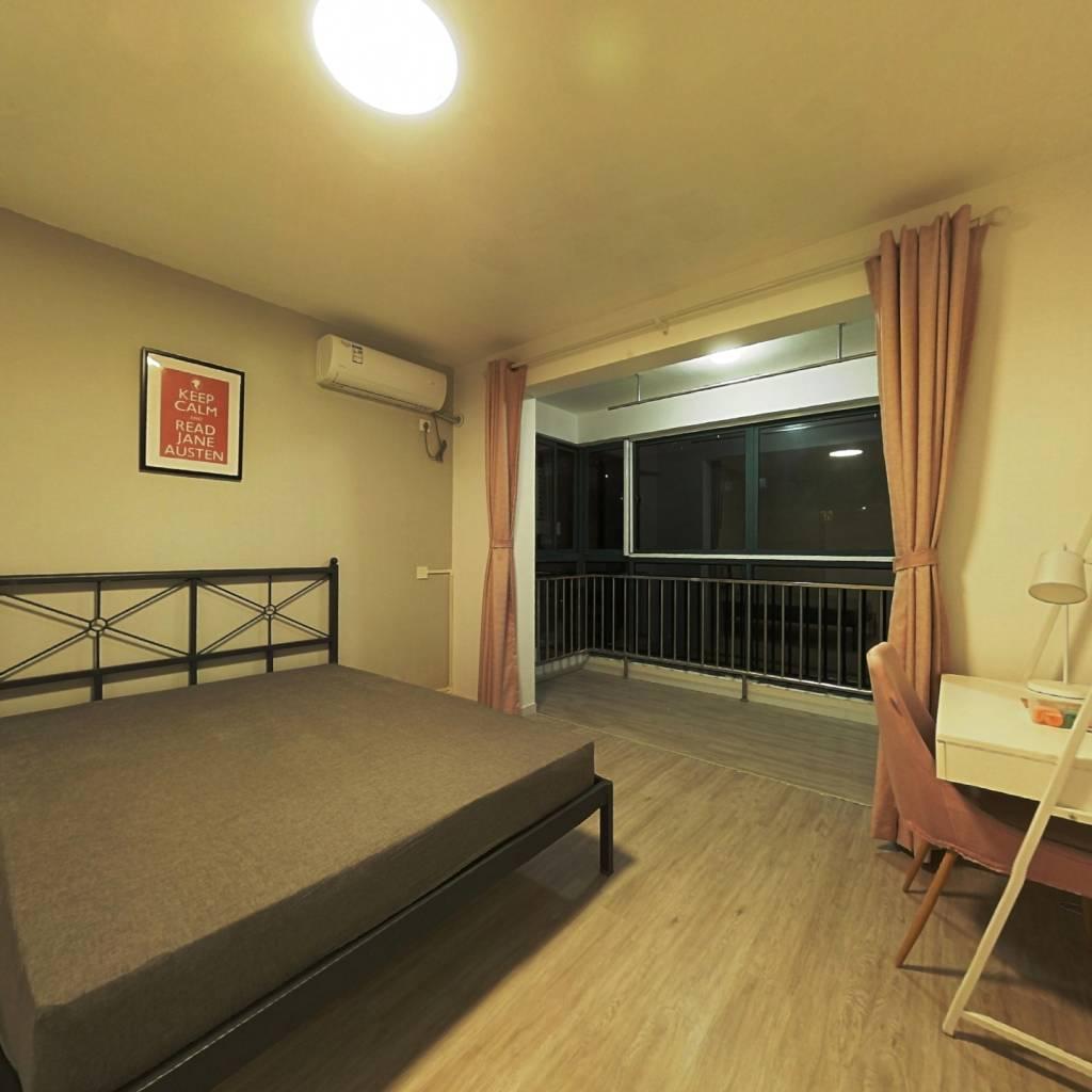 合租·中环锦园 3室1厅 北卧室图