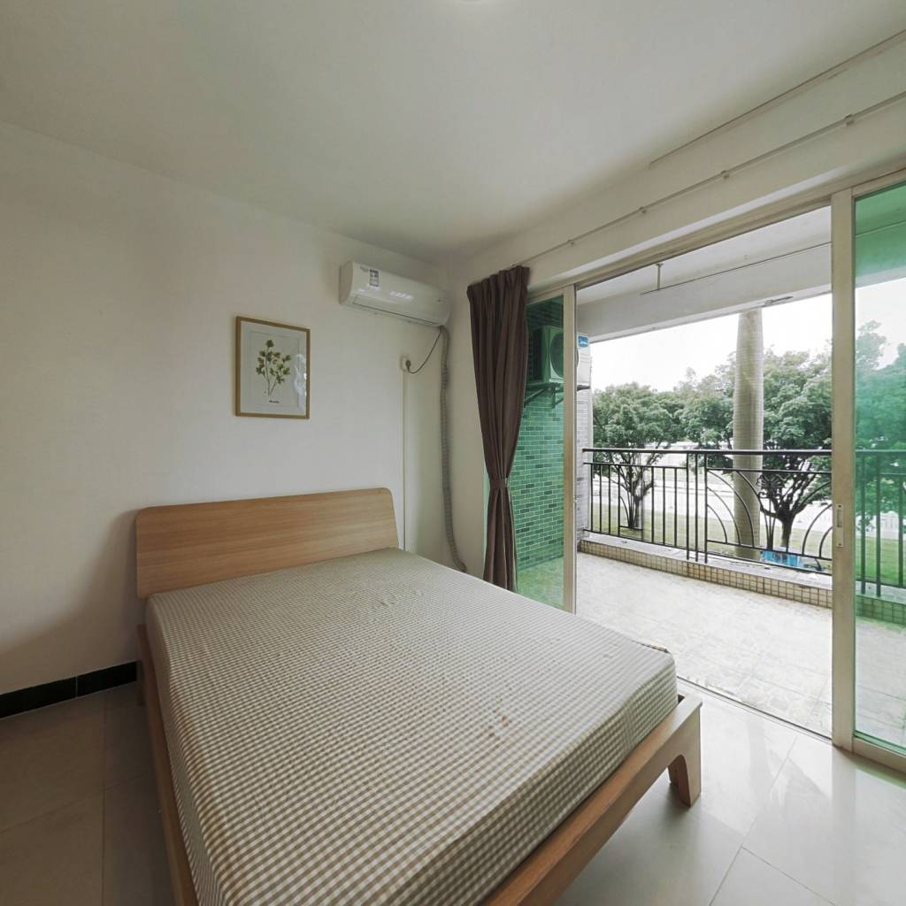 合租·锦绣生态园 4室1厅 南卧室图