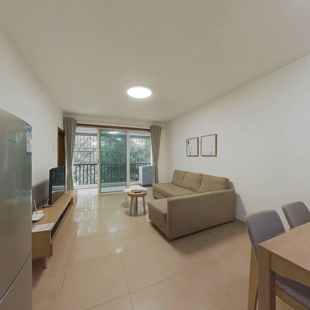 整租·豪方花园 2室1厅 南卧室图