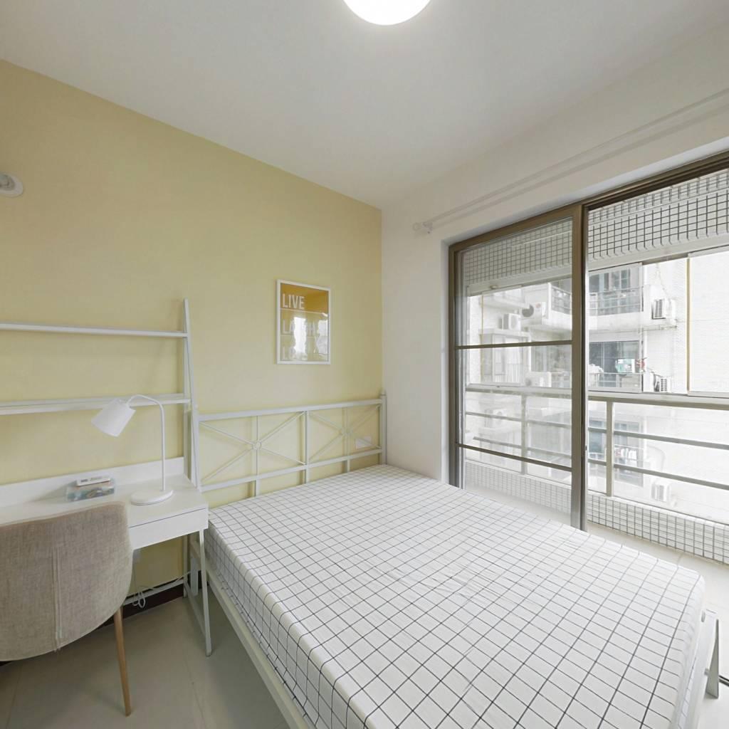 合租·华港花园 4室1厅 西卧室图
