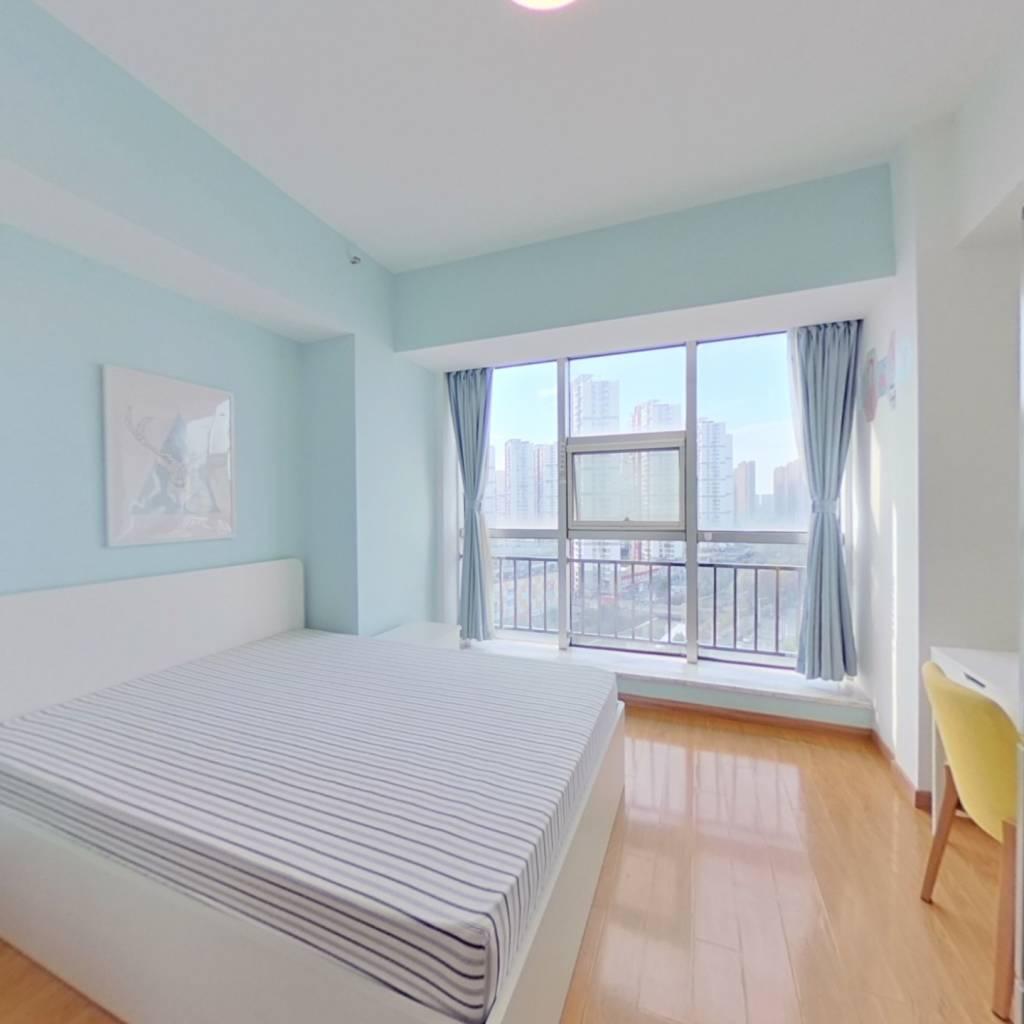 整租·铂悦公寓 1室1厅 西卧室图