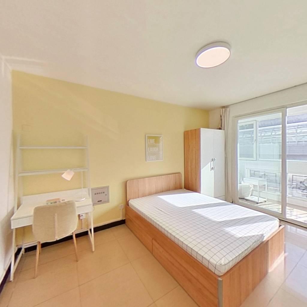 合租·朱辛庄南区 3室1厅 南卧室图