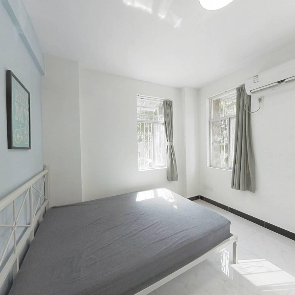 合租·淘金路 4室1厅 西北卧室图