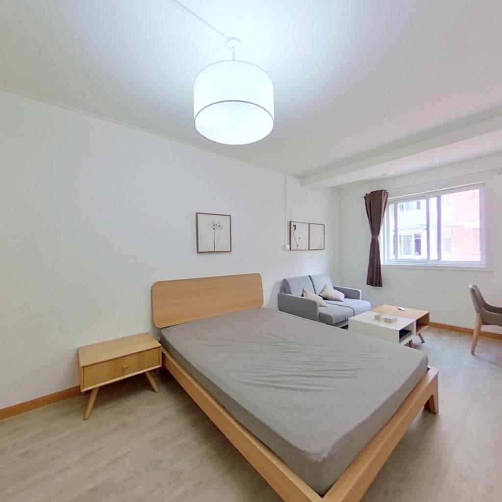 整租·江南新村(徐汇) 2室1厅 南卧室图